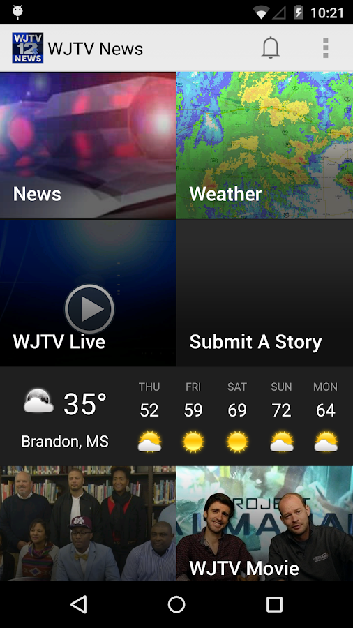 WJTV News Channel 12- screenshot