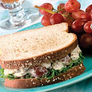 Homemade Chicken Salad Sandwiches.
