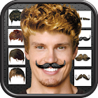 Hair Changer and Mustache icon