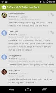1-Click WiFi Tether No Root - screenshot thumbnail