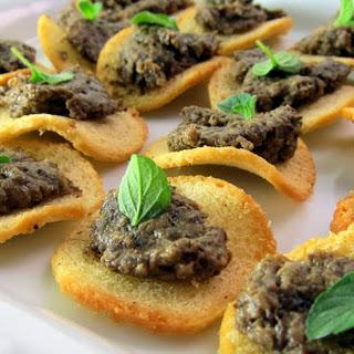 Pressure Cooker Porcini Mushroom Pate'