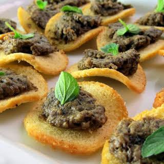 Pressure Cooker Porcini Mushroom Pate'.
