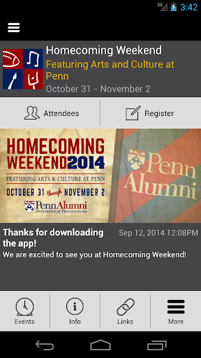 Penn Homecoming Weekend 2014