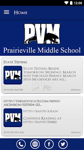 Prairieville Middle School