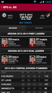 Arizona Coyotes- screenshot thumbnail