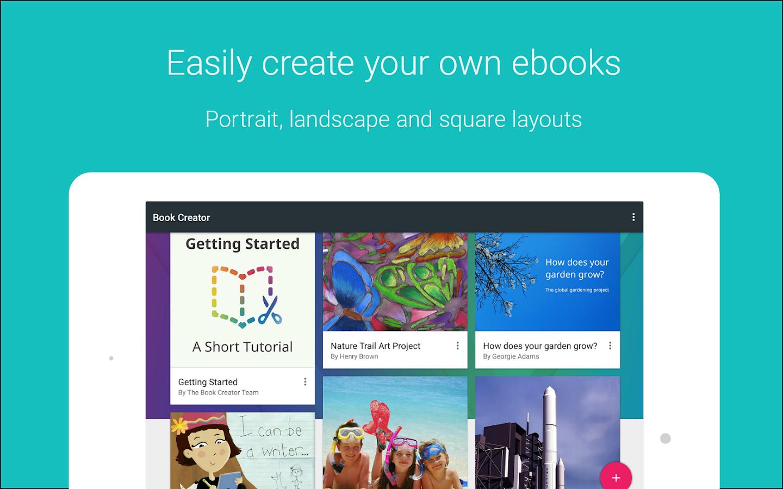 Book Creator - screenshot