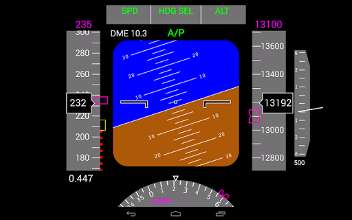 Flightgear Android PFD