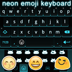 Neon Emoji Keyboard Emoticons APK