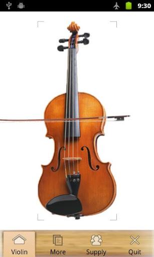 Fingertip Violin Playing