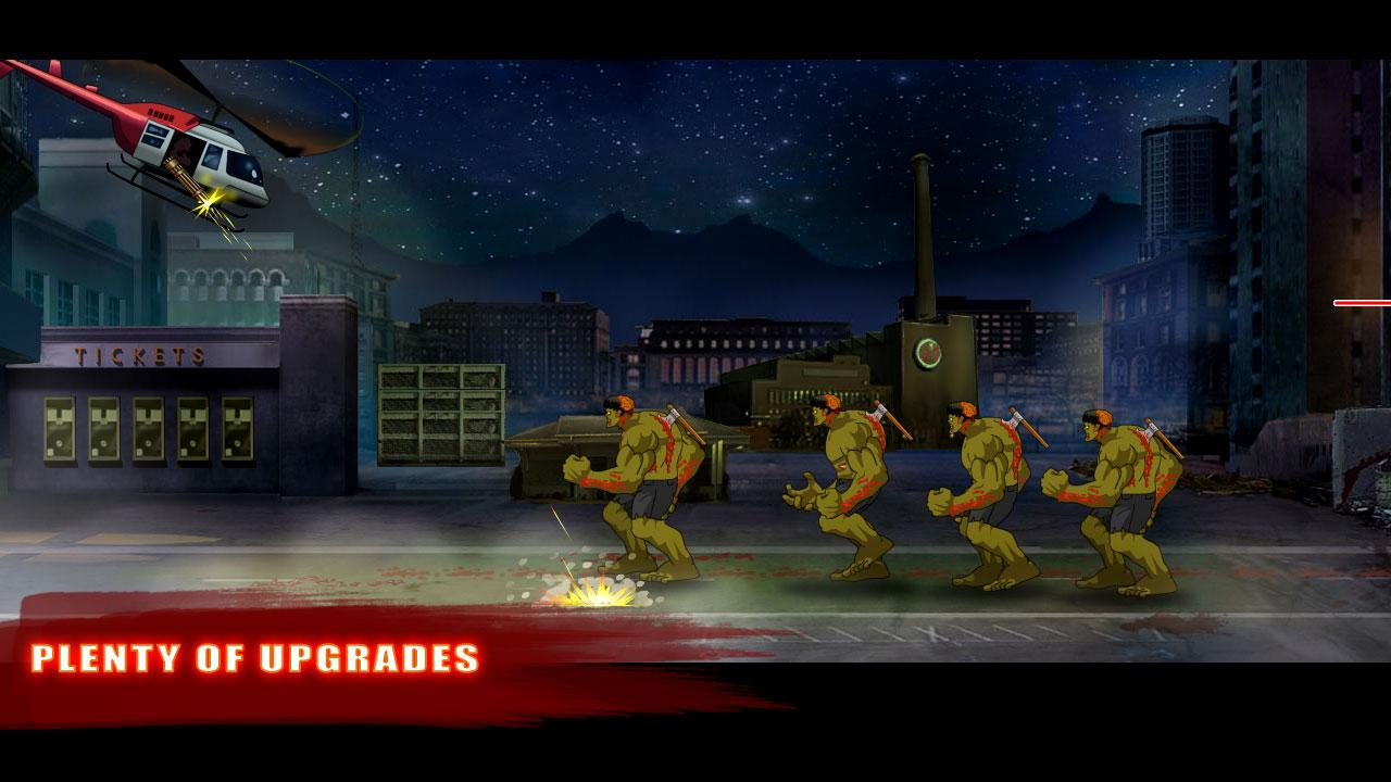 Baseball Vs Zombies- screenshot