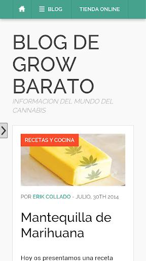 Cultivar marihuana Grow Barato