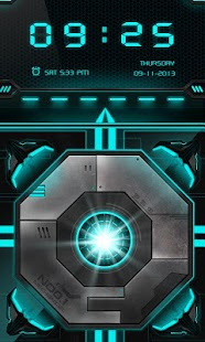 Laser GO Locker Theme - screenshot thumbnail
