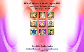 Screenshot of Bal Ganesh Wallpapers HD