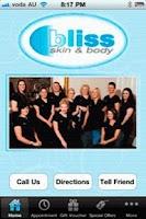 Screenshot of Bliss Skin & Body