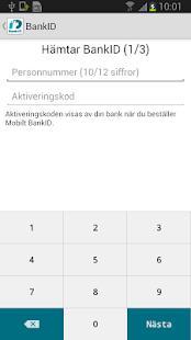 BankID säkerhetsapp - screenshot thumbnail