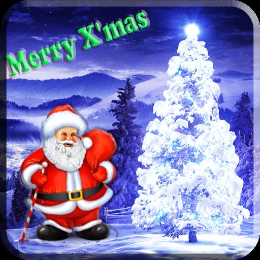 最佳動態聖誕樹-3D粒子特效真好看HD版 休閒 App LOGO-APP試玩