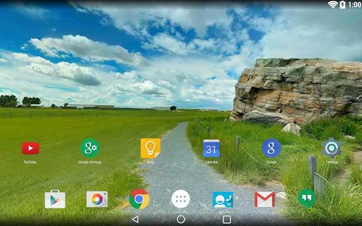 Panorama Wallpaper: Roads