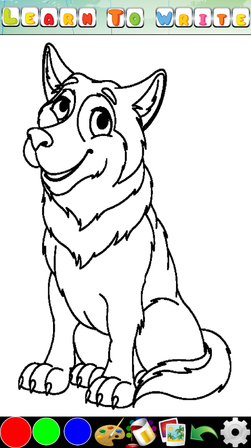 Coloring Pages for kids - screenshot