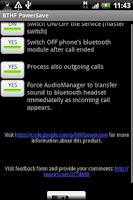 Screenshot of BTHF PowerSave
