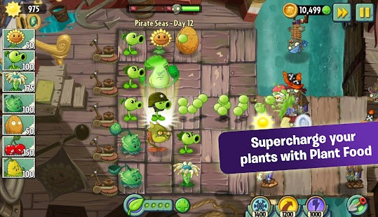 Plants Vs. Zombies™ 2 V2.2.2 Unlimited Coins/Gems/Keys