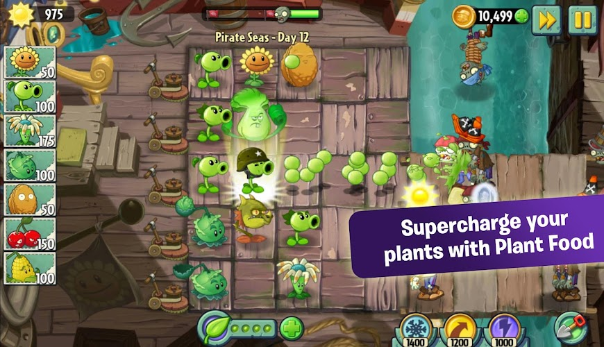 Plants vs. Zombies 2 v3.8.1 APK Mod (Free Shopping) - screenshot