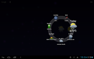 Screenshot of Circle Weather