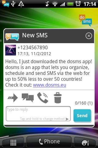 dosms - screenshot