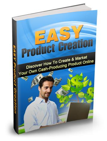 Easy Product Creation