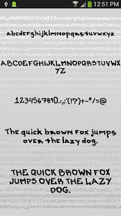 Fonts for FlipFont Graffiti Screenshot