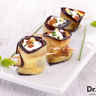 Eggplant Wrapped Goat Cheese Recipe