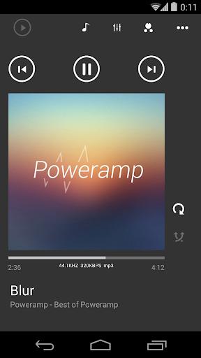 Skin for Poweramp Metro UI  screenshots 2