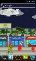 Screenshot of Zombie Town Live Wallpaper