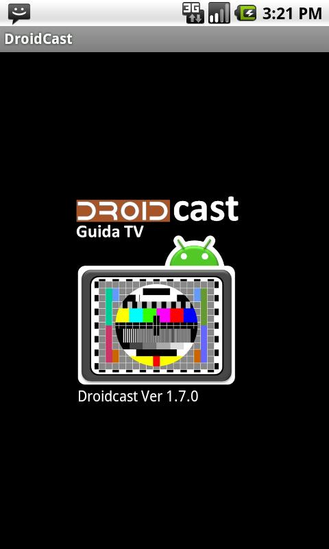 Guida TV Droidcast- screenshot