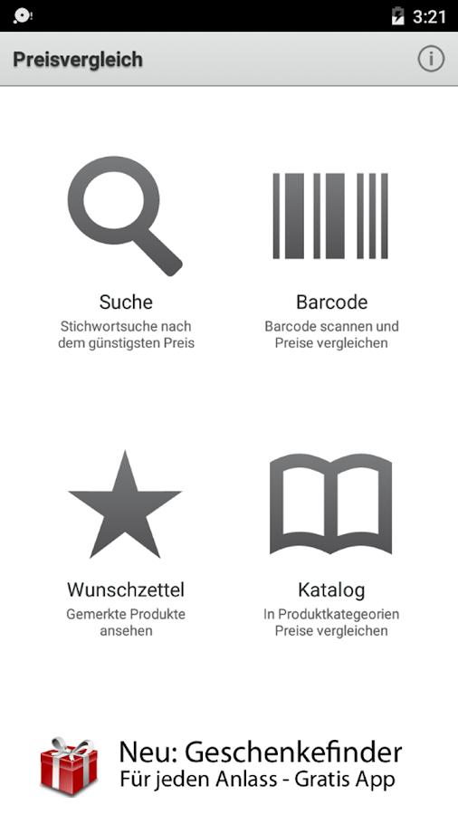 Mobiler Preisvergleich - screenshot