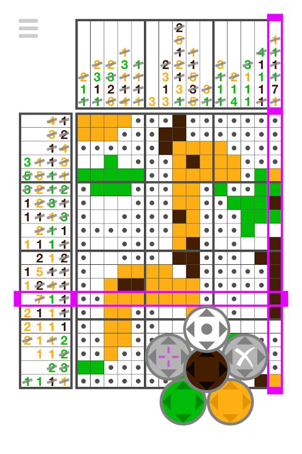 Let's IQ Nonogram - screenshot