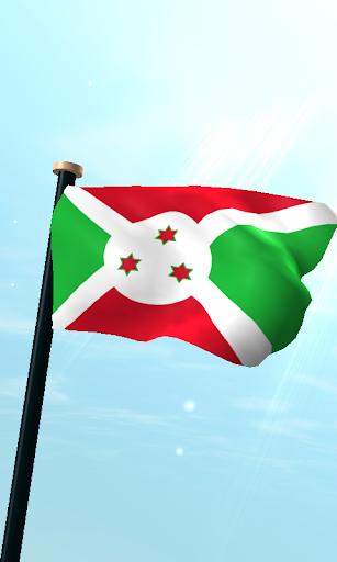 布隆迪旗3D免費動態桌布