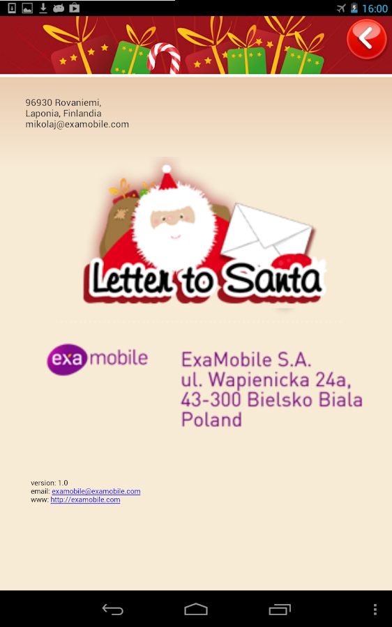 letter to santa screenshot