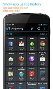 App Usage (manage/track usage) v2.21