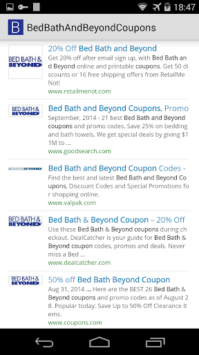 Bed Bath Beyond Coupons