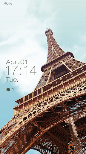 Eiffel Tower Live Locker Theme
