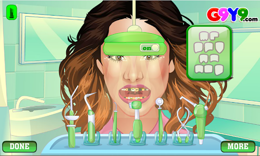girl dentist surgery- screenshot thumbnail