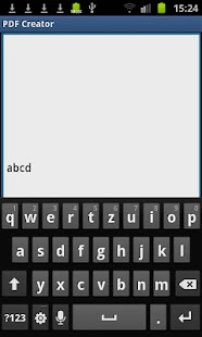 PDF Creator- screenshot thumbnail