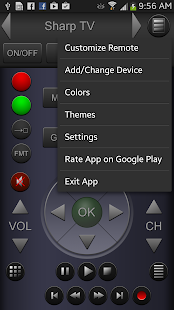 ZappIR TV Remote PRO- screenshot thumbnail