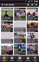 Screenshot of Real Murcia News