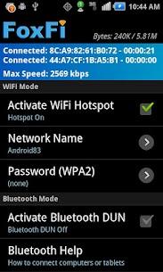 FoxFi (WiFi Tether w/o Root) 2