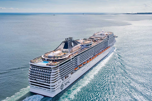MSC-Divina-stern - MSC Divina sails itineraries to the Eastern and Western Caribbean.