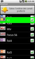 Screenshot of Guida TV Droidcast