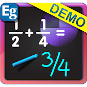 Blackboard Math: Fraction Demo