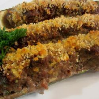 Maria'S Stuffed Courgettes Recipe