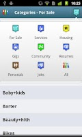 Screenshot of CityShop - for Craigslist